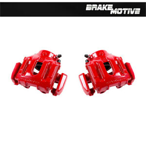 Front Red Coated Brake Calipers For Bmw 540i 735i 735il 740i 740il 750il