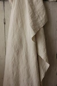 Beautiful Soft Linen Antique French Sheet 77x83 Washed Pp Monogram Old Textile