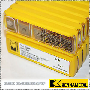Cnmg 432 Mn Kc9125 Kennametal 10 Inserts Factory Pack