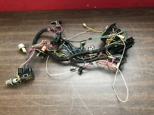 1964 1965 Pontiac Gto Lemans Under Dash Wiring Harness W Fuse Block 119