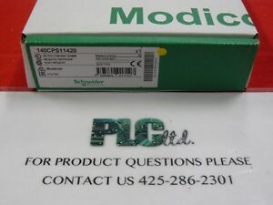 140cps11420 New Modicon Ac Power Sply 140 cps 114 20