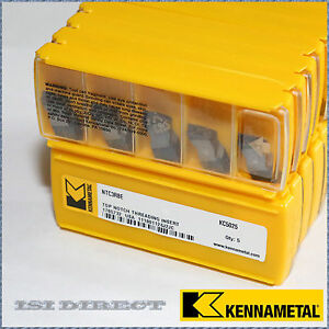 Ntc3r8e Kc5025 Kennametal 5 Inserts Factory Pack
