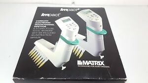 Thermo Matrix Impact 8 Channel Multichannel Electronic Pipette 15 1250ul 2034
