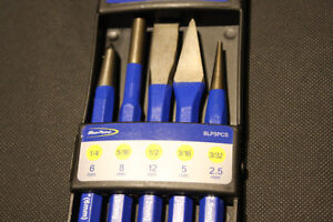 Blue Point 5 Pc Punch And Chisel Set Sold By Snap On Brand New