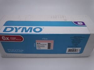 6 Rolls Dymo 30915 Stamps Internet Postage Labels 1 5 8 In X 1 1 4 In 200 Ct Ea
