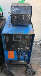 Used Miller Cp300 Mig Runner Package