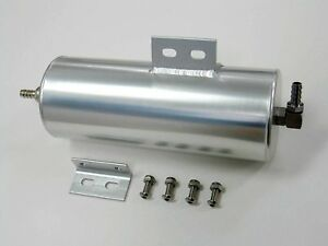 Radiator Overflow Tank Catch Can Top Grade Stainless Polished 10 8 X 3 X 3 20 Oz