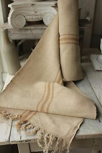 Grain Sack Grainsack Fabric Old Washed Linen Hemp Eco Friendly Organic 6 9 Yards