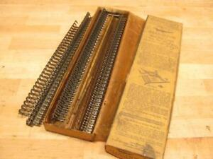Nos Vintage Alligator 25 d Steel Flat Belt Lacing Hit Miss Steam Engine Sawmill