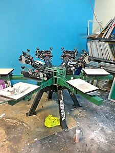 Vastex Screen Printing Press