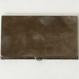 Tiffany Co Silver Plate Vintage Business Card Holder