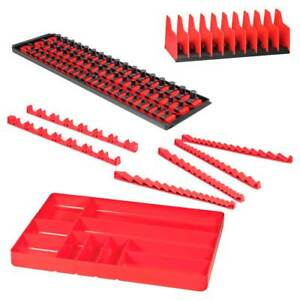 Ernst Mfg 8500 Rd Tool Organizer Pro Pack Holds 111 5pc Set Red