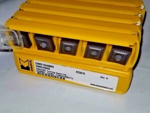 Cnmg 120408 Ms Kc5010 Cnmg 432 Ms Kennametal 10 Inserts Factory Pack