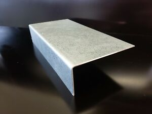 Galvanized Steel Angle Corner 0 040 20 Gauge 72 X 5 X 1 Brake Shape