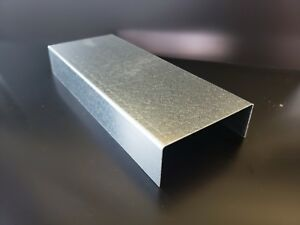 Galvanized Steel C channel 20 Gauge 0 040 72 X 2 X 5 X 2