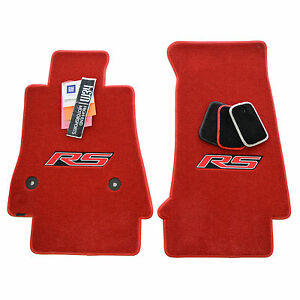 Chevrolet Camaro Rs Floor Mats 2016 2019 Adrenaline Red Jet 2ply Usa