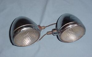 Vintage Chrysler Cowl Parking Turn Signal Lights 1931 1932 1933 1934