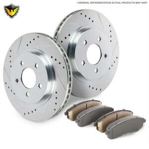 Fits Acura Tsx 2011 2012 2013 2014 New Duralo Front Brake Pad Rotor Kit