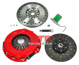 Xtr Stage 2 Clutch Kit Chromoly Flywheel For 2011 2014 Ford Mustang Gt 5 0l