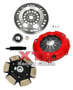 Xtr Stage 3 Race Clutch Kit Chromoly Flywheel Acura Rsx Honda Civic Si K20 K24