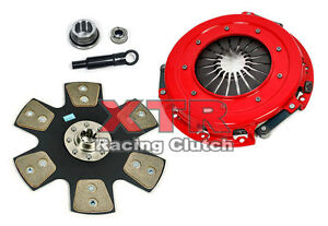 Xtr Stage 4 Clutch Kit 86 95 Ford Mustang Gt Lx Cobra Svt 4 6l 281cu 302cu 5 0l