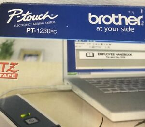 Brother Pt 1230pc Label Thermal Printer Brand New