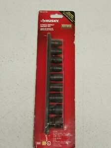 Husky 9 Piece Impact Socket Set Item 800197 Aa2