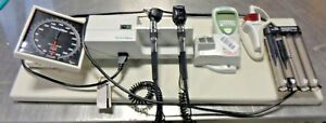 Welch Allyn 767 Series Integrated Wall Mount Diagnostic Set Otoscope ophthlam