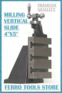 Vertical Milling Slide 4 X 5 Inch Fixed Base For Myford Ml7 Series Boxford Lathe