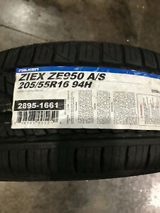 1 New 205 55 16 Falken Ziex Ze950 A s Tire