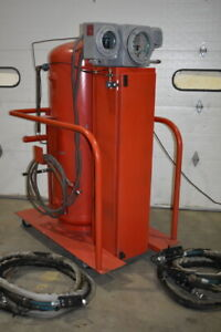 Fire Suppression System Ultra High Speed Deluge Portable Cvd Corp