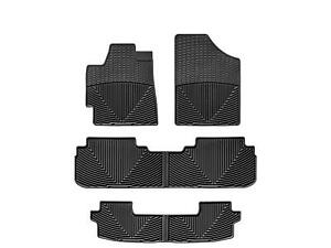 Weathertech All weather Floor Mats For Toyota Highlander 2008 2013 1st 2nd 3rd