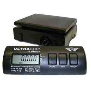 My Weigh Ultraship 55 lb Electronic Digital Shipping Postal Scale