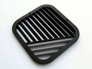 Studebaker Avanti Footwell Outlet Grille Vent Right Satin Black New Item