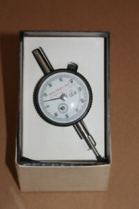 Dial Indicator 0 001 Division 1 Travel 2 75 Face Lc 8 Soiltest