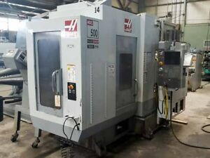 Haas Mdc 500 Cnc Vertical Milling And Drilling Center