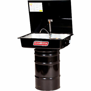 Cleanmaster Cm216 16 gallon Solvent Drum mounted Parts Washer Model Cm216