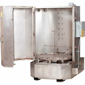 Spraymaster 135 gal Aqueous Front loading Parts Washer Stainless Steel Cabinet