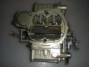 Reman Holley 1850 600cfm Vac Sec Carburetor Universal Hand Choke