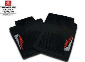New Oem 2005 2011 Toyota Tacoma Trd Off Road All Weather Floor Mats 2 piece Set