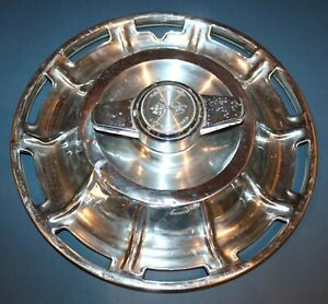 1959 1960 1961 1962 Corvette 4 Hubcaps Wheel Covers Hub Caps Orig L W Spinners