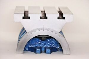 7 X 10 Adjustable Tilting Angle Plate For Heavy Workholding With Graduation