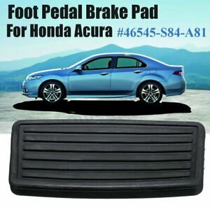 Non Slip Automatic Brake Pedal Pad Rubber Cover Fit Honda Acura 46545s84a81