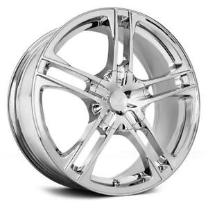 17 Inch 17x7 Verde Protocol Chrome Wheel Rim 6x115 40