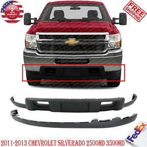 Front Bumper Lower Air Deflector Valance For 2011 2013 Chevy Silverado 2500 3500