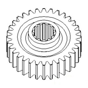 381506r1 New Pto Drive Gear Made To Fit Case ih Tractor Models 986 966 886 856