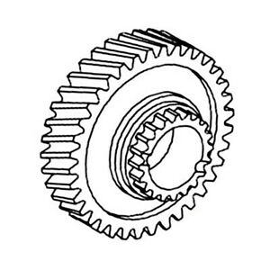 T21976 2nd 6th Gear For John Deere 300 300b 301 302 302a 310 380 400 401 410