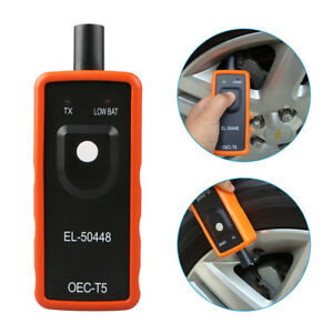 El 50448 Orange Tpms Relearn Tool Auto Tire Pressure Sensor Activation For Gm Us