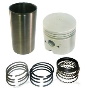 Apn6055d Piston Sleeve Ring Liner Kit Fits Ford Tractors 2n 8n 9n