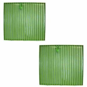 Re12764 Pair 2 Front Side Screens For John Deere 4050 4055 4250 4255 4450 4455